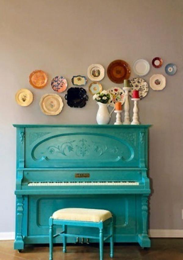 Пианино как декор