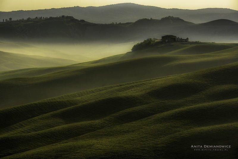 Рассветы и закаты Тосканы вобрали всю красоту мира Тоскана, закаты, италия, красота, пейзажи, рассветы, фото, фотоподборка