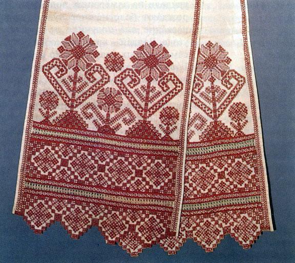 Русское полотенце как символ чистоты!