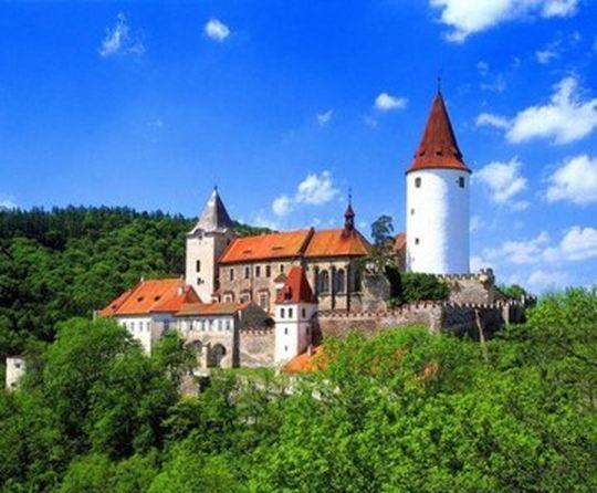Кршивоклат и крепость Вышеград