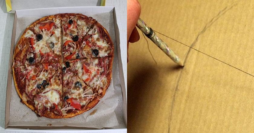 поделки из коробок для пиццы