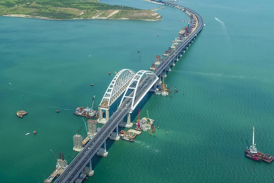 Крымский мост нашел место в официальной идеологии Украины