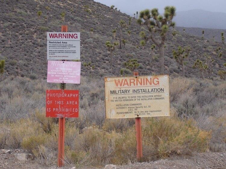 «Бермудский треугольник» среди пустыни, или загадочная «Зона 51» - миф или реальность?