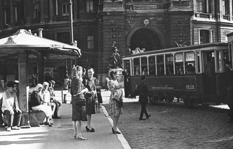 «Одесский трамвай». Замечательный рассказ Аркадия Хайта.