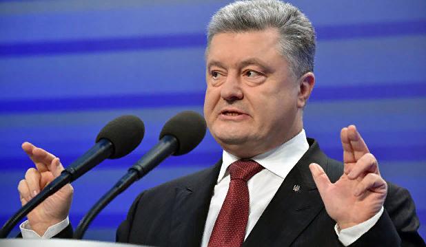 """Порошенко заявил о """"перехвате"""" данных российских военных спутников"""