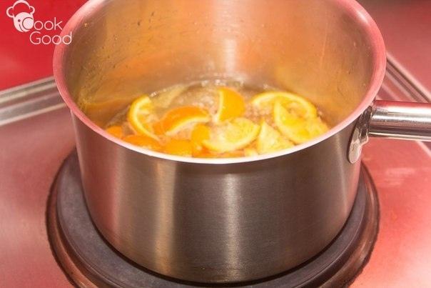 Лосось под апельсиновым соусом