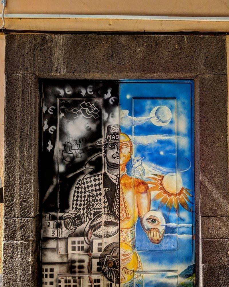 22. дверь, картина, мадейра, португалия, путешествие, фотография, фотомир