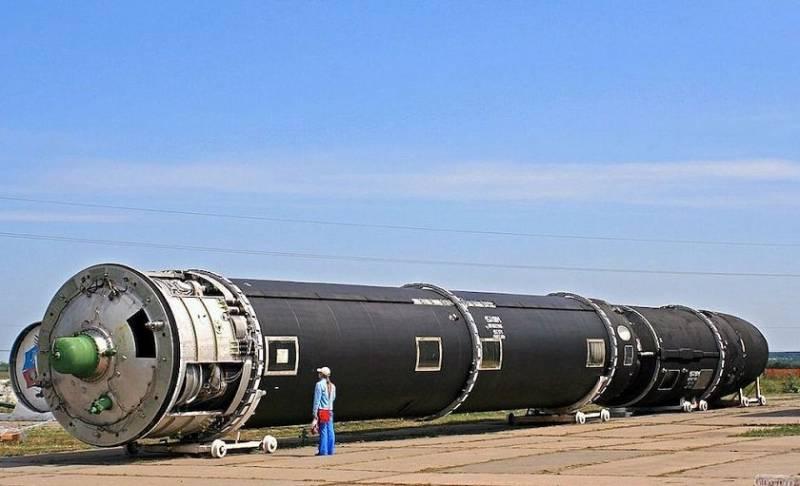 Новейшая ракета «Сармат» пол…
