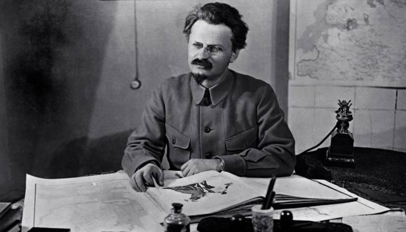 Поражение Льва Троцкого