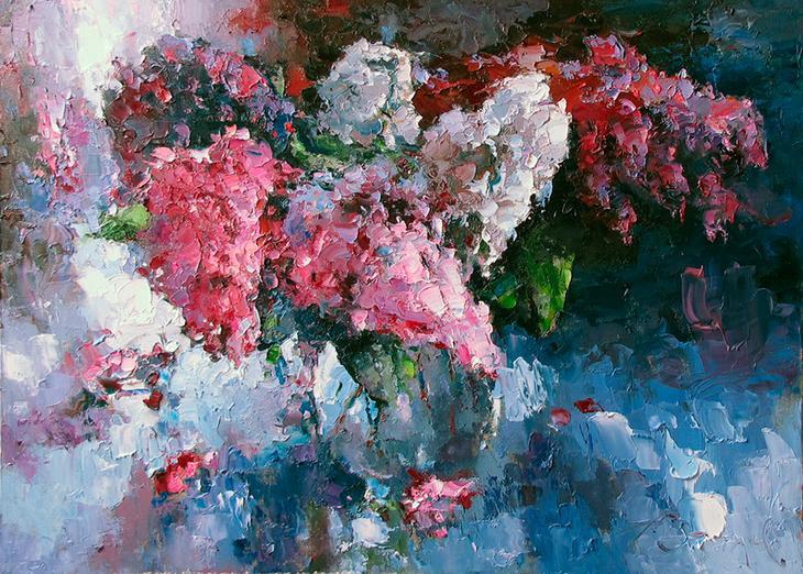 """""""Светлеет грусть, когда цветут цветы..."""" Творчество художника Алексея Зайцева"""