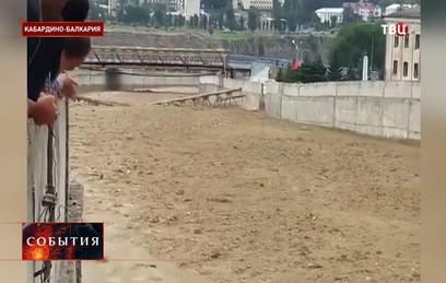 Режим ЧС введен в городе Тырныауз после схода селя