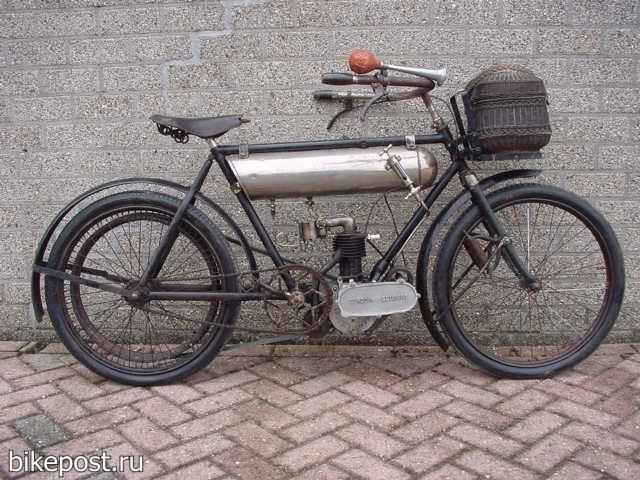 Велоцикл Lurquin-Coudert 1907