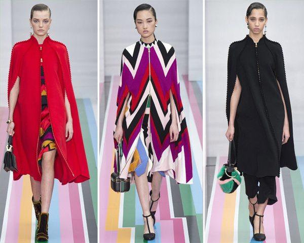 Модные кейпы Salvatore Ferragamo