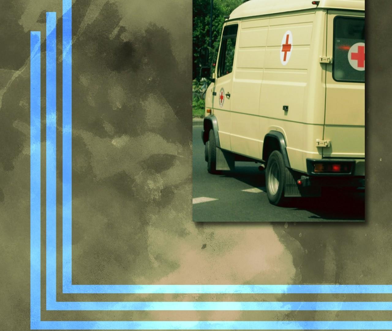 В ДНР показали фрагменты расстрелянного ВСУ санитарного автомобиля
