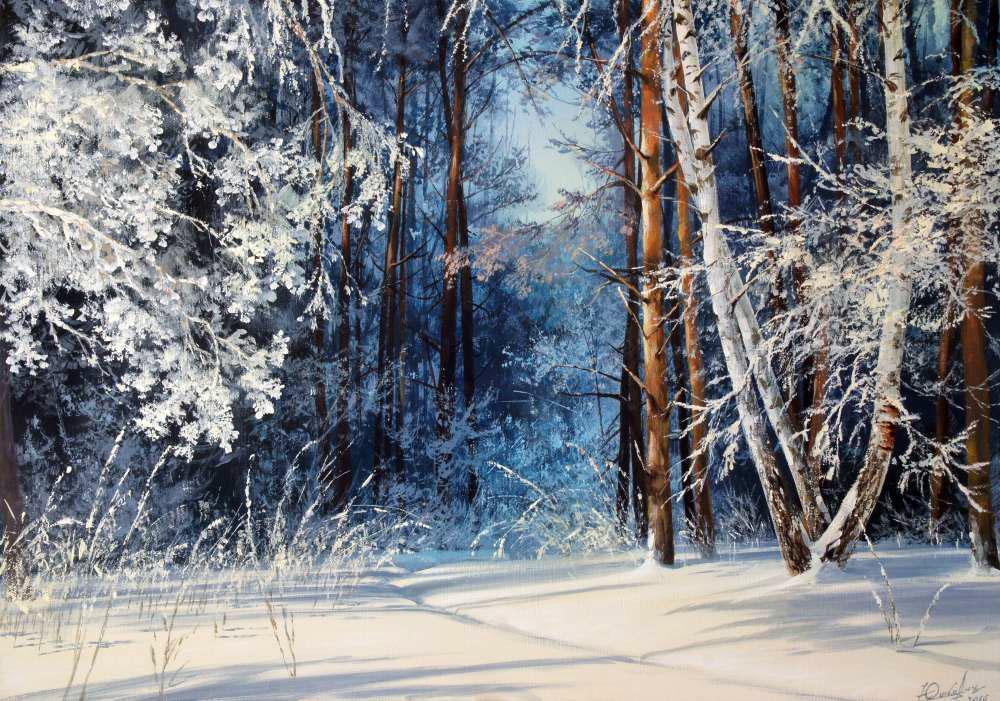 Зимняя сказка Виктора Юшкевича