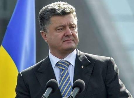 Ukraine leader sees end to war, eyes EU membership by 2020