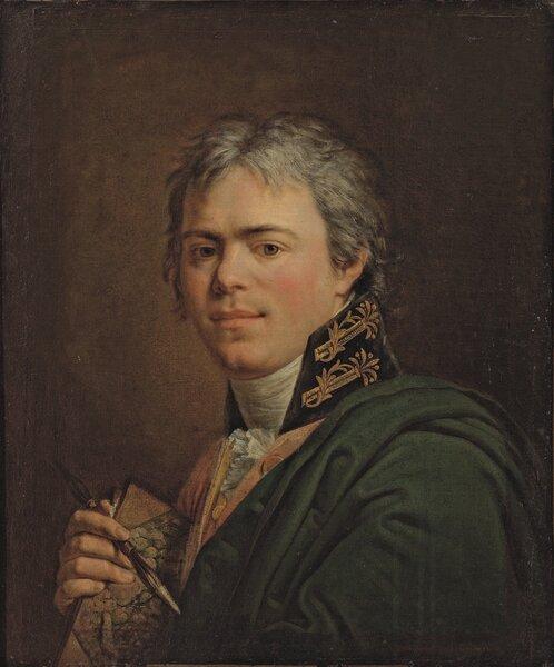 """""""Автопортрет"""", 1800, холст, масло, ГТГ"""