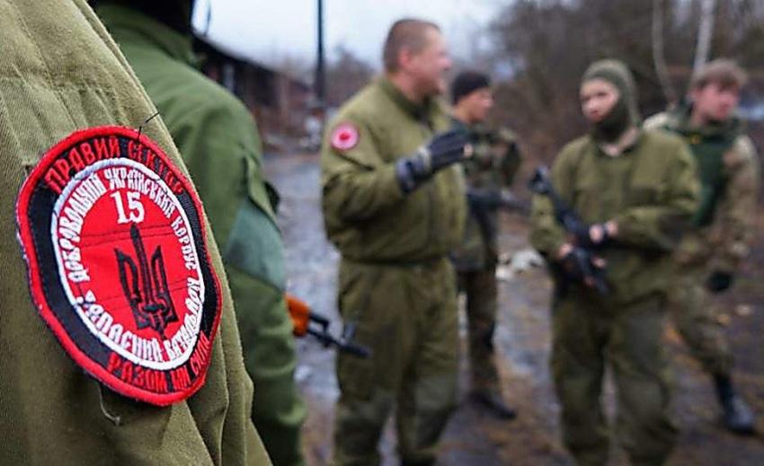 Донбасс: бойцы ВСУ подорвались на минах «Правого сектора»*