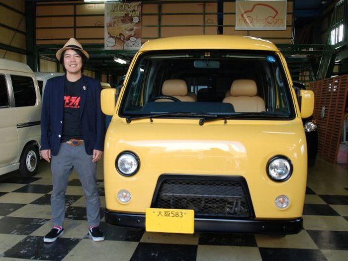 Рестайлинг японских минивенов в стиле УАЗа