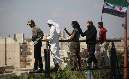 """В Идлибе террористы и """"Белые каски"""" утвердили сценарий провокации с химоружием"""