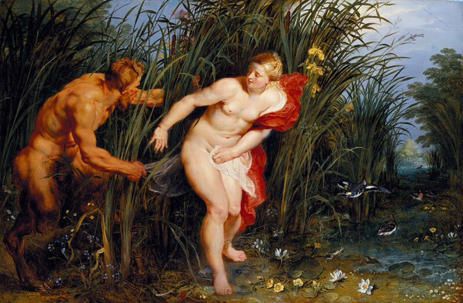 Peter Paul Rubens, Pan and Syrinx, 1617