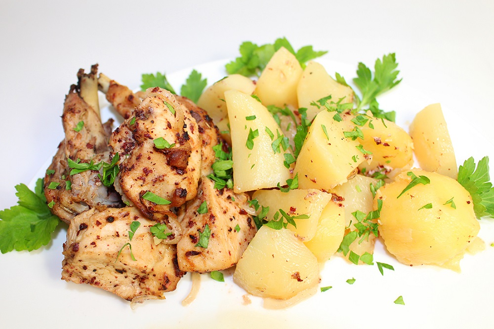 Тушенная картошка или ужин 2 в 1