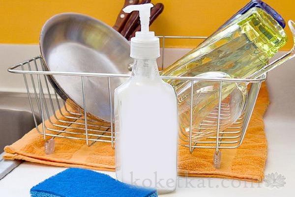 Моющее средство для мытья посуды своими руками