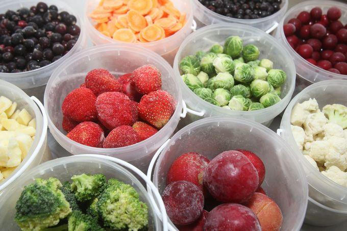 7 правил замораживания овощей и фруктов
