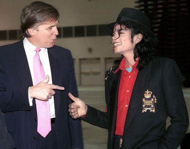Дональд Трамп и Майкл Джексон: История загадочной дружбы