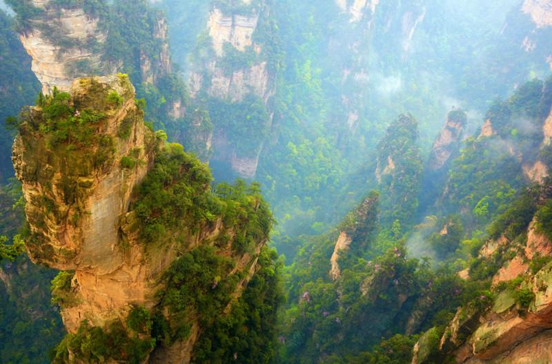 Неземные пейзажи из разных уголков мира в мире, красота, пейзажи, планета