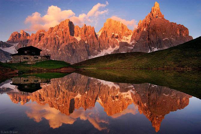 Отражения гор