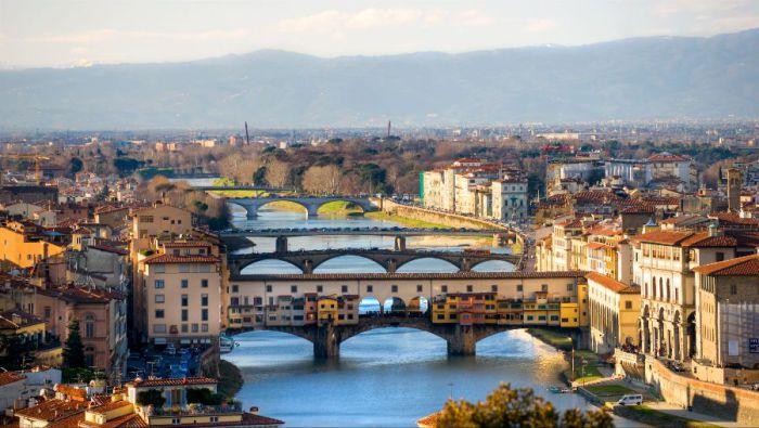 Столица итальянского Возрождения, мировой центр искусства и культуры.