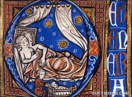Интимная жизнь средневековья