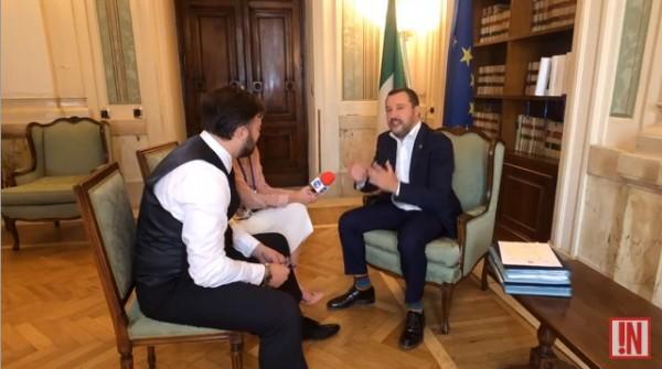 Министр внутренних дел Итали…