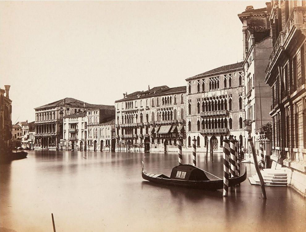 Ка' Фоскари (палаццо Фаскери), палаццо Джустиниан и Ка' Реццонико на Гранд Канале