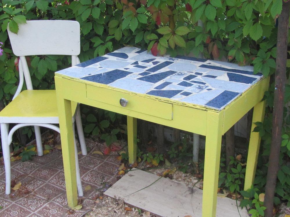 Отреставрировать столик своими руками 55