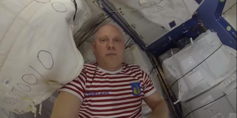 Видео дня: российский космонавт выложил на Youtube захватывающую экскурсию по МКС