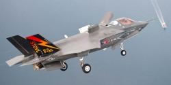 Истребитель-бомбардировщик Lockheed F-35B