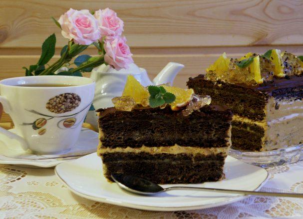 Торт «Апельсиновый шоколад»