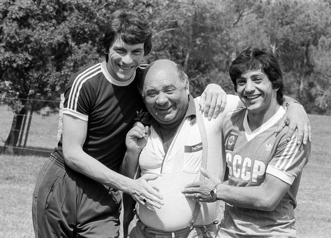 История одной фотографии — Ринат Дасаев, Евгений Леонов и Хорен Оганесян, 1982