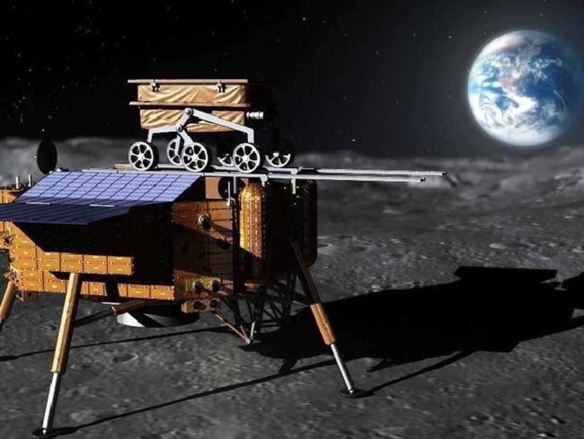 Видео посадки лунохода на обратную сторону Луны выложили в Сеть