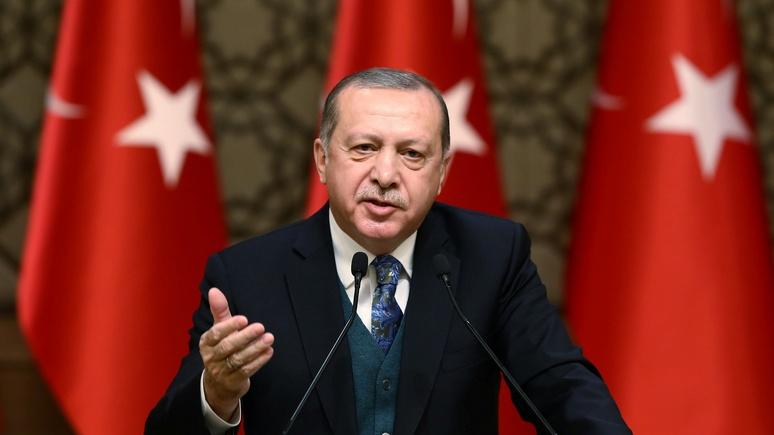 Bloomberg: Эрдоган не позволит США «дурачить» Турцию с курдами