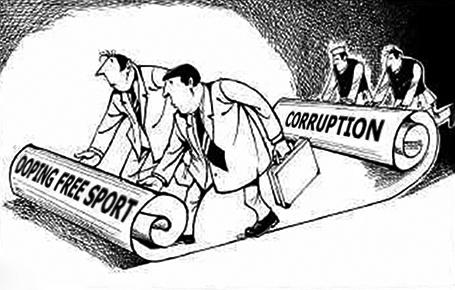 Коррупция в международных спортивных контролирующих органах