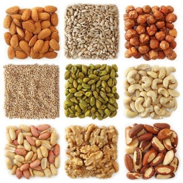 Чем полезны орехи? Сохраните, чтобы не забыть!