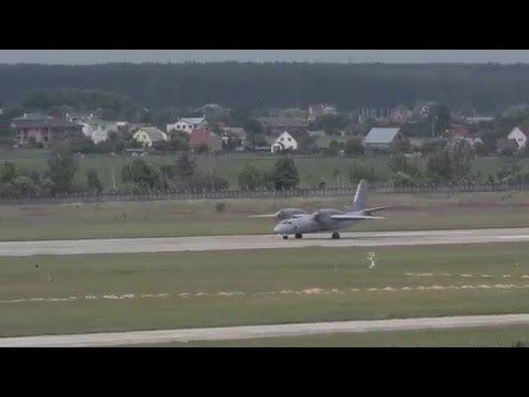 Пилотаж на АН-32...