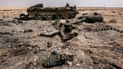 Это - война: Коалиция США атаковала армию Асада