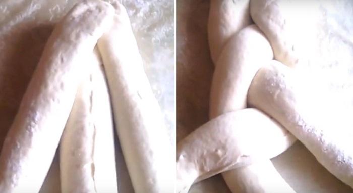 дрожжевые булочки с сахаром