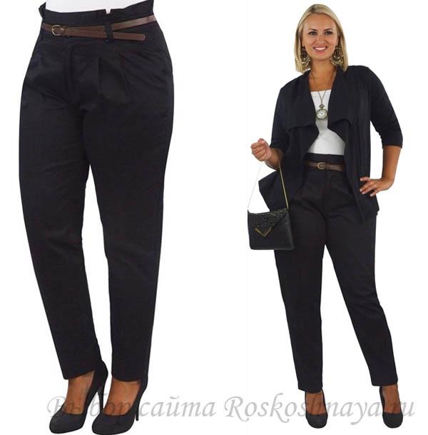 Фото штанов женских для полных