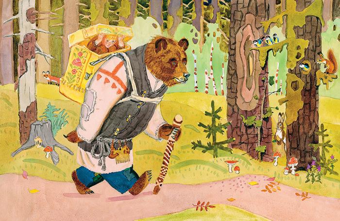 Зачем на самом деле Медведь украл Машу и другие тайны народных сказок о девочках в лесу