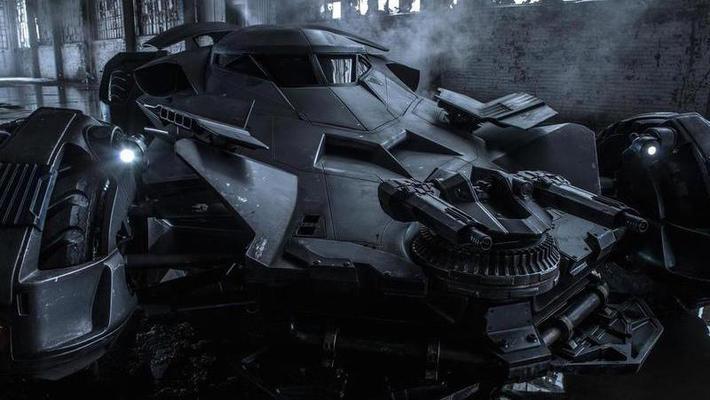 В Интернете показали новый автомобиль Бэтмена